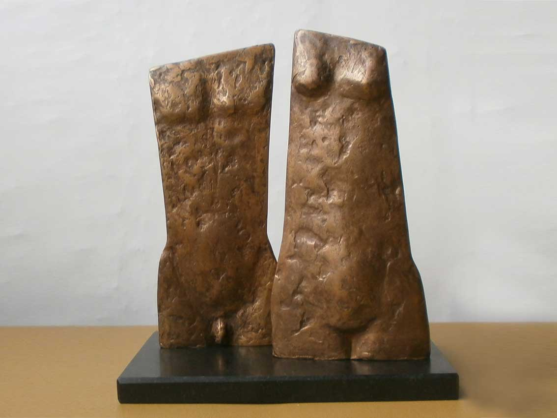 Michiel Linders - brons couple